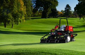 Used golf course mower machinery hire Australia